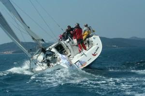 Das Alles Yacht-Team auf der Bavaria 42match