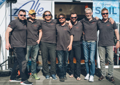 Gerd Lormann (SYCS) - Bernhard Jogl (Sycs) / twentysix Markus Bekerle, Werner Maurer-Ertl, Martin Dirnböck, Thomas Weiss, Marko Jöbstl
