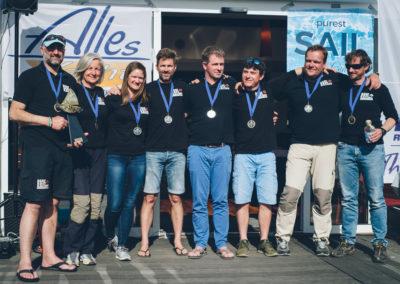 Miša Strobl (NCA) - Gerhard Tüchler (NCA) / Reef Raff Racing Andrea Adler-König (NCA), Robert Holzer (NCA), Mario Reiterer (NCA), Mark Ressel (NCA), Eva Schett (Crew Tauern), Hans-Peter Nauschnegg (NCA)