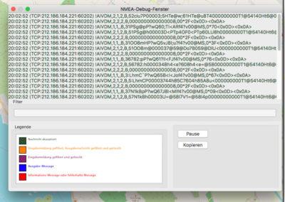 openCPN_NMEA-Debug-Fenster